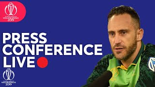 Post Match Press Conference  Australia vs South Africa | ICC Cricket World Cup 2019