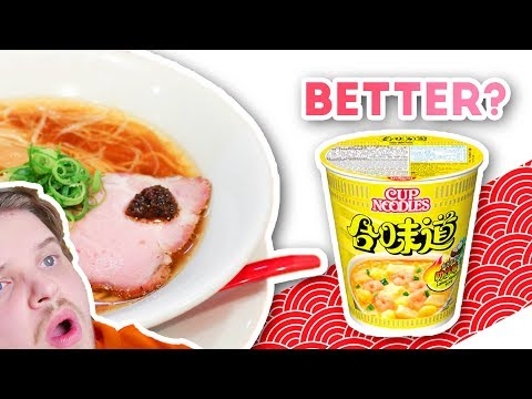 Michelin Star Ramen vs Instant Noodles