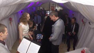 British couple get married in Antarctica wedding ceremony
