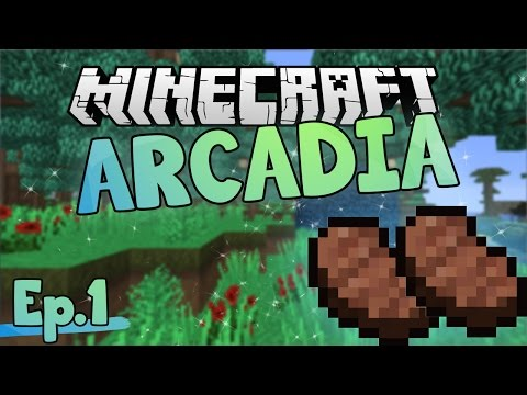 Joel's Island! | Minecraft Arcadia | Ep.1