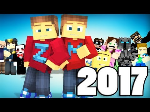 Best of ZAMination Productions | 2017 | (Minecraft Animation)