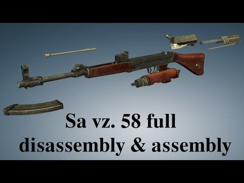 Sa vz  58: full disassembly & assembly - YouTube