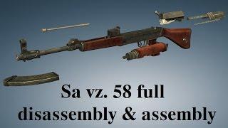 sa vz 58 full disassembly assembly