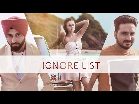 IGNORE LIST (Full Video) PREET HUNDAL, KAMAL KHAIRA | LATEST PUNJABI SONG | T-SERIES