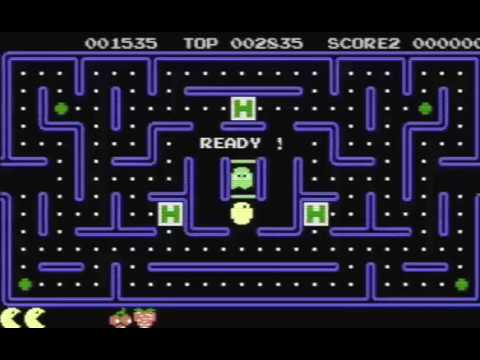 COMMODORE 16 116 PLUS 4 +4 Pac Mania PACMANIA AKA PAC MAN ARMATI CLONE PACMAN By Mr ChipSoftware19xx