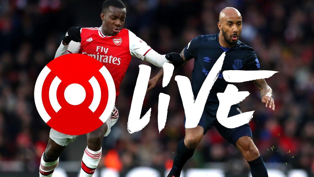 Arsenal 3-2 Everton | Arsenal Nation Live