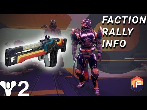 Destiny 2: Why You Should Choose Future War Cult! Faction Rally Info & Vendor Locations!