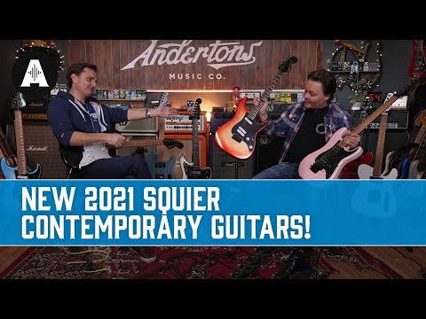 They&39;ve Done It Again!  New Squier 2021 Contemporary Series