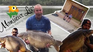 China Lakes Carp Fishing Brittany | Monsieur Lee's Fishing Holidays