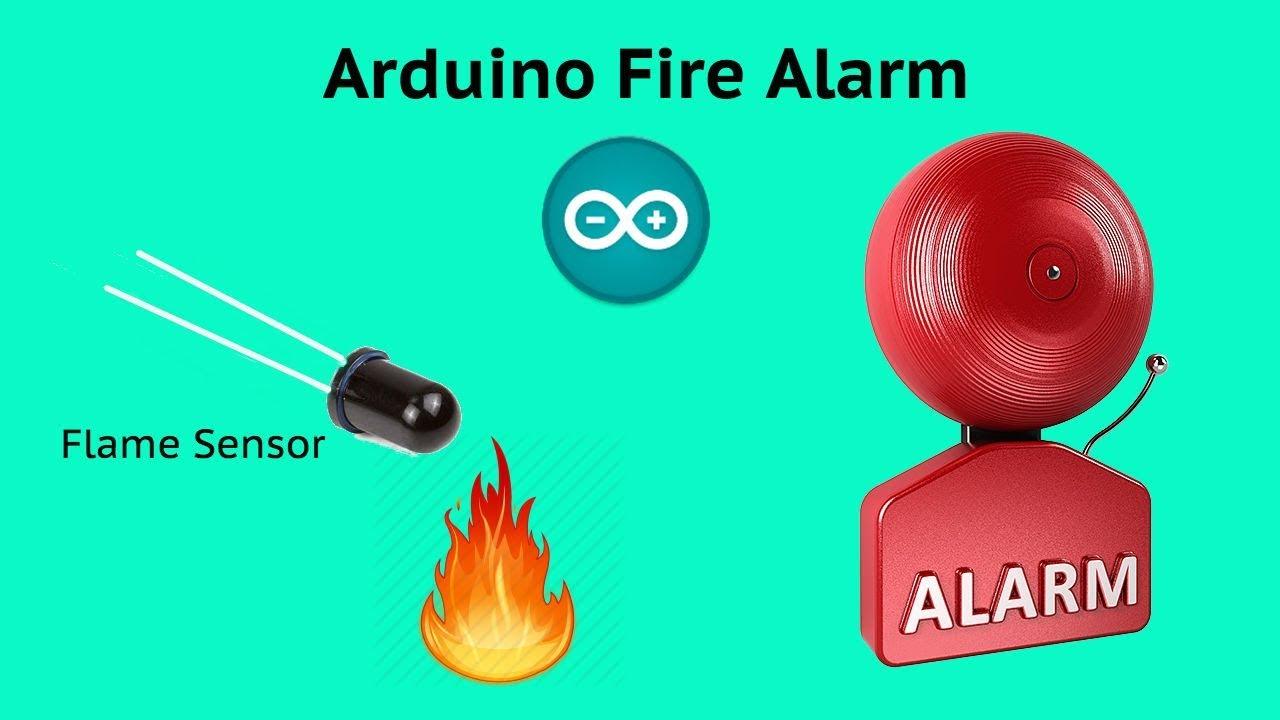 Arduino Fire Alarm (Flame sensor and Speaker)