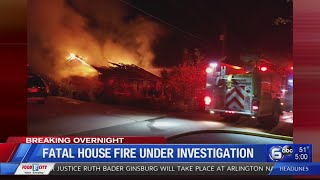 Investigation underway into fatal corryton house fire