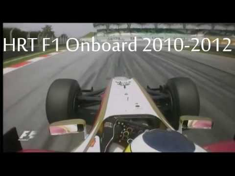 HRT F1 Onboard 2010-2012