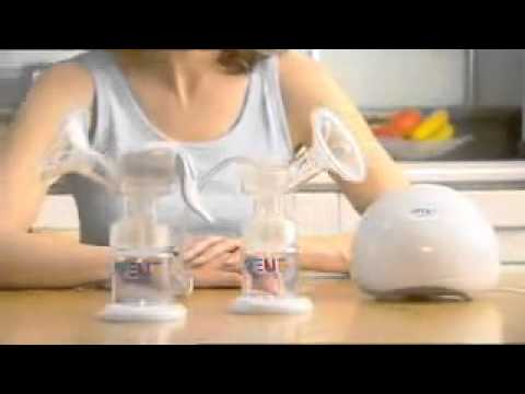 Isis IQ Duo Twin Electronic Breast Pump Instructions by Philips AVENT