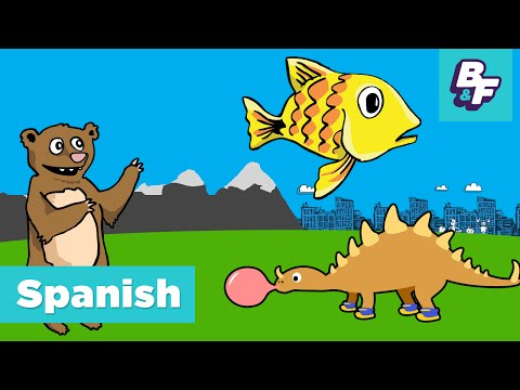 Spanish Calendar Song - Learn days and months in Spanish with BASHO & FRIENDS! - Dia por Dia