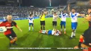 Iván Bella sufre ataque de epilepsia y se desploma en el campo de juego
