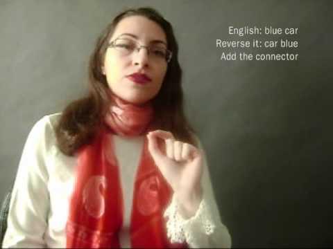 Farsi / Persian Lesson: Colors, Adjectives, Nouns (2)