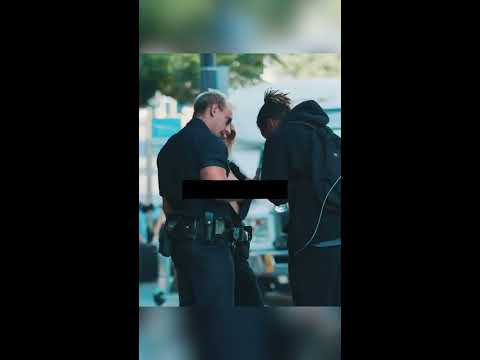 Topless Cop Fucking With Strangers Prank! - Vitaly Uncensored