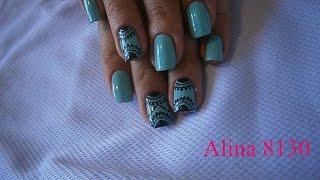 Узоры на ногтях для начинающих/ дотс с сайта Aliexpress