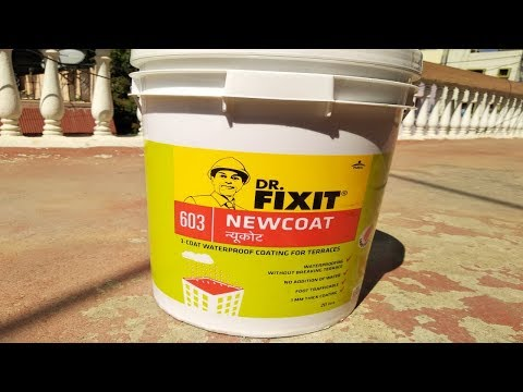 Dr Fixit Waterproofing | Dr. Fixit Newcoat | Roof Waterproofing | Dr.Fixit Terrace Waterproofing |