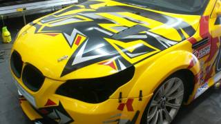 Tom's Stickers - Ultra Racing Project Car , Bmw