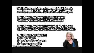 Beatrice Egli - Mein Herz (LYRICS ON SCREEN)