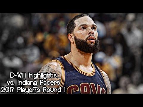 Deron Williams 14 pts in 13 mins @ Pacers (2017 NBA Playoffs R1G4) - 23.04.2017