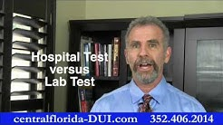 Problems with testing blood in Florida DUI cases