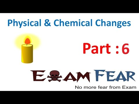 Chemistry Physical & Chemical Changes Part 6 (Rusting of Iron) Class 7 VII