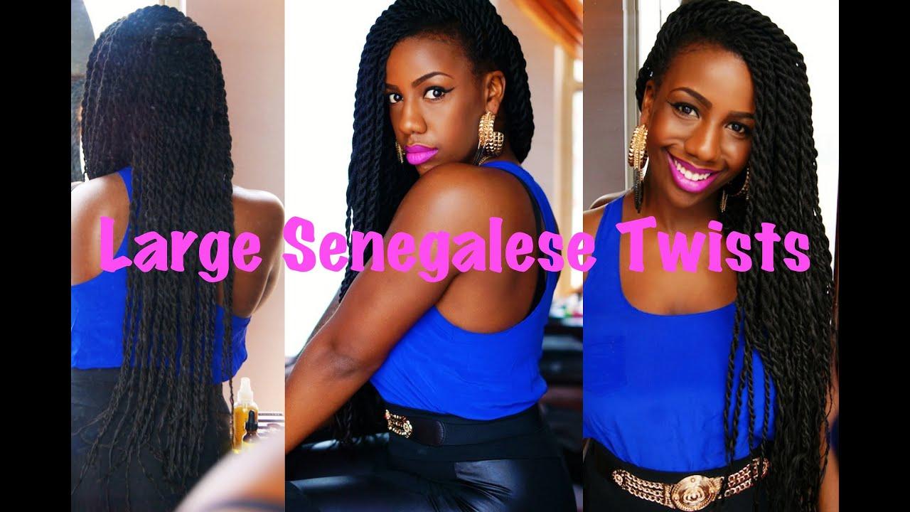 Large Senegalese Twists Youtube