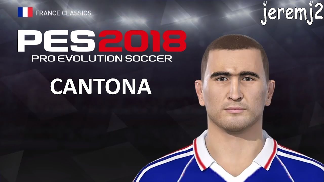 Thierry henry and eric cantona to the street football section of fifa 21. E. CANTONA Face + stats edit PES 2018 ou 2019 (France ...