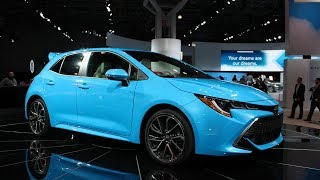 MUST WATCH! 2019 Toyota Corolla Hatchback REVEALED