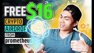 FREE $16 BOUNTY AIRDROP CRYPTO FROM PROMETHEUS | ALDRIN RABINO