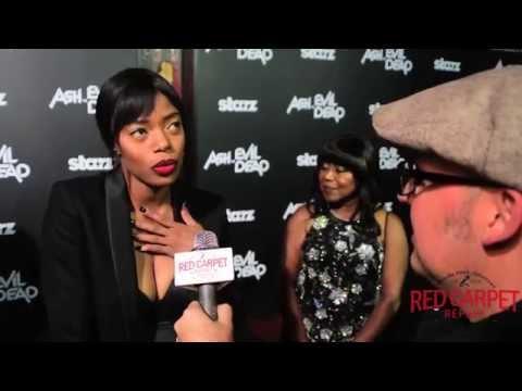Jill Marie Jones at the Premiere of Ash vs Evil Dead a Starz Original Series #AshVSEvilDead #AshBash