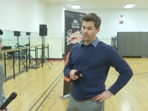 Andrew Rannells mentors young underprivileged performers