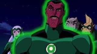 51 Green Lantern vs Green Lantern Corps   Fight Scene   Green Lantern  First Flight