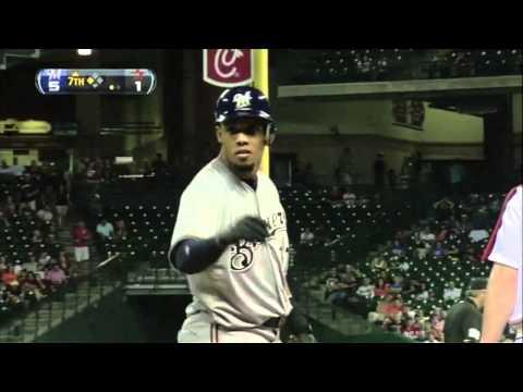 Carlos Gomez 2012 Highlights