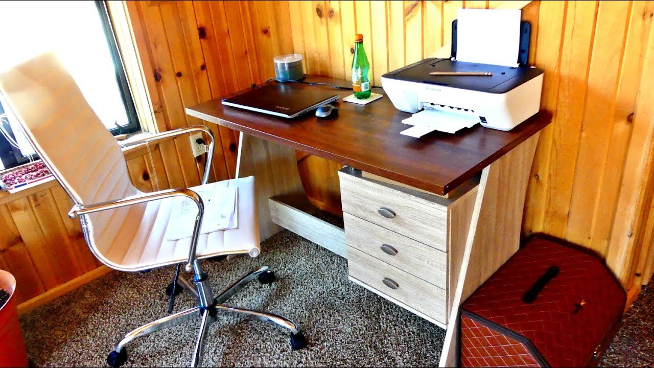 Baxton Studio Parallax Writing Desk Review Product Review