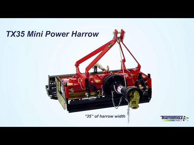 Power Harrows from Tractor Tools Direct