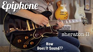 Epiphone Sheraton II