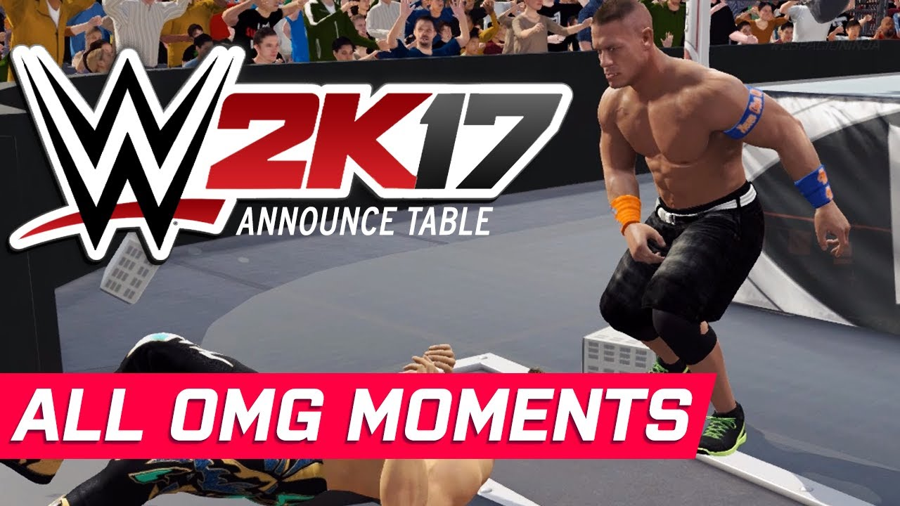 WWE - All Announce Table OMG Moments! (Finishers) - YouTube