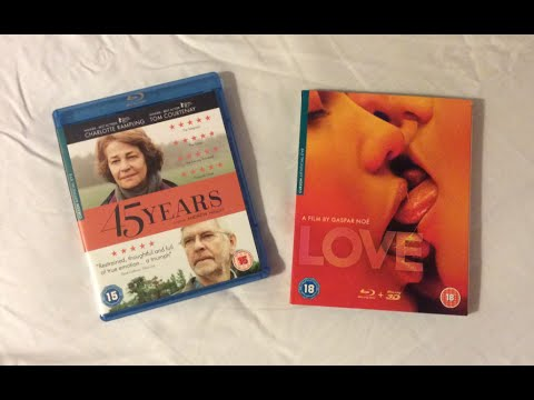 45 Years / LOVE (2015) Blu Ray Review and Unboxing
