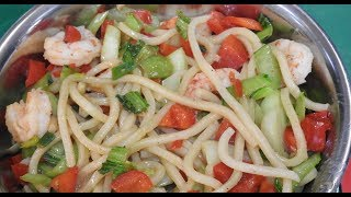 Cooking Class - Stir Fried Spiced Prawn Noodles