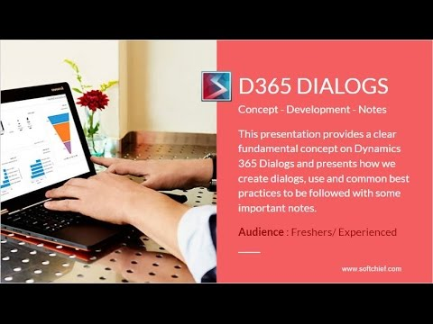 How to Create a Dialog in Dynamics 365