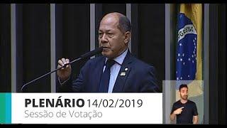 Plenário - Sessão Deliberativa - 14/02/2019 09:00