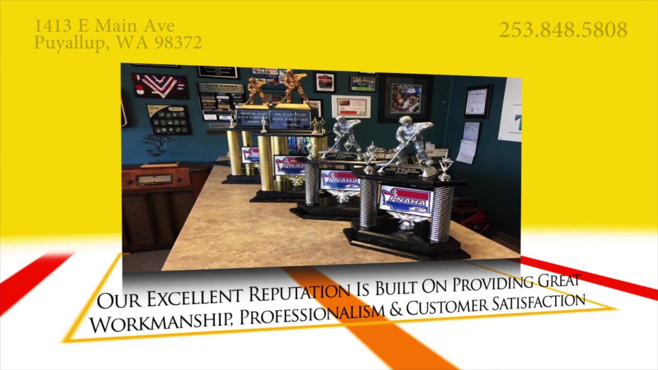 Custom Trophies, in Puyallup, WA   Impressive Trophies & Awards