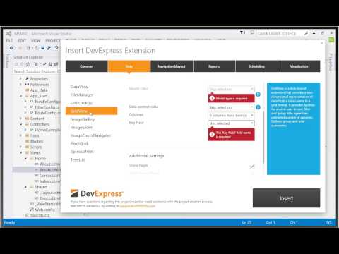 DevExpress ASP.NET MVC: Getting Started