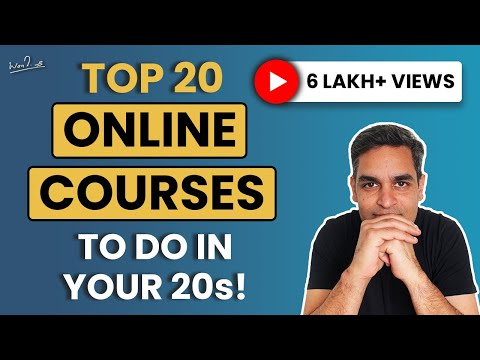 20 Online courses you must check TODAY!   Top Skills for 2021   Ankur Warikoo Hindi Video