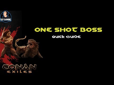 Conan Exiles | How To One Shot Any Boss Exploit (Quick Guide)