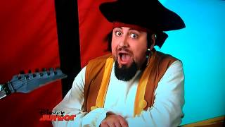 Jake y los piratas del nunca jamas Cancion el reloj tic tac