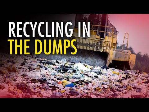 Exposed: Canadian Cities Dump Recycling Into Landfills